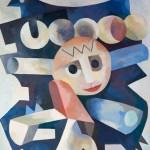 01. Slonce, 2005, olej, plotno, 100 x 80 cm