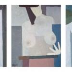 05. Kompozycje, 2009, olej, plyta, karton, 25 x 20 cm