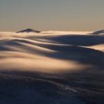 Śnieżka ponad morzem chmur, Karkonosze