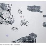 """""""Strukturalna Kompozycja"""" 2012, akryl na płótnie, 135 x 160 cm"""