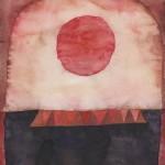 0004. Bez tytulu, 1963, akwarela, tempera, papier, 31 x 24 cm