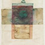 002. Bez tytulu, 1963, akwarela, tempera, papier, 31,5 x 24 cm