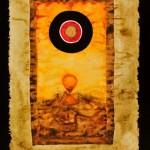 DSC_0783. 0004. Bez tytulu, lata 60. XX w., akwarela, tempera, papier, 45 x 30,5 cm