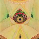 DSC_0799. Jedno, 1987, akwarela, papier, 65 x 48 cm
