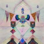 DSC_0800. Strefa IV, 1989, akwarela, papier, 64,5 x 50,5 cm