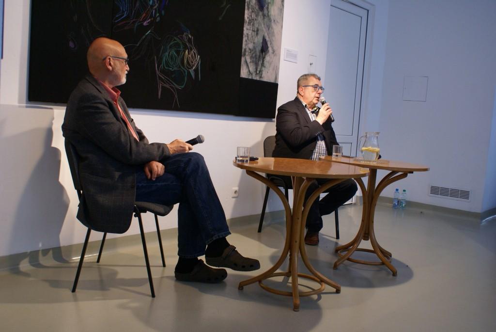 Grzegorz Miecugow i Marek Przybylik - spotkanie autorskie